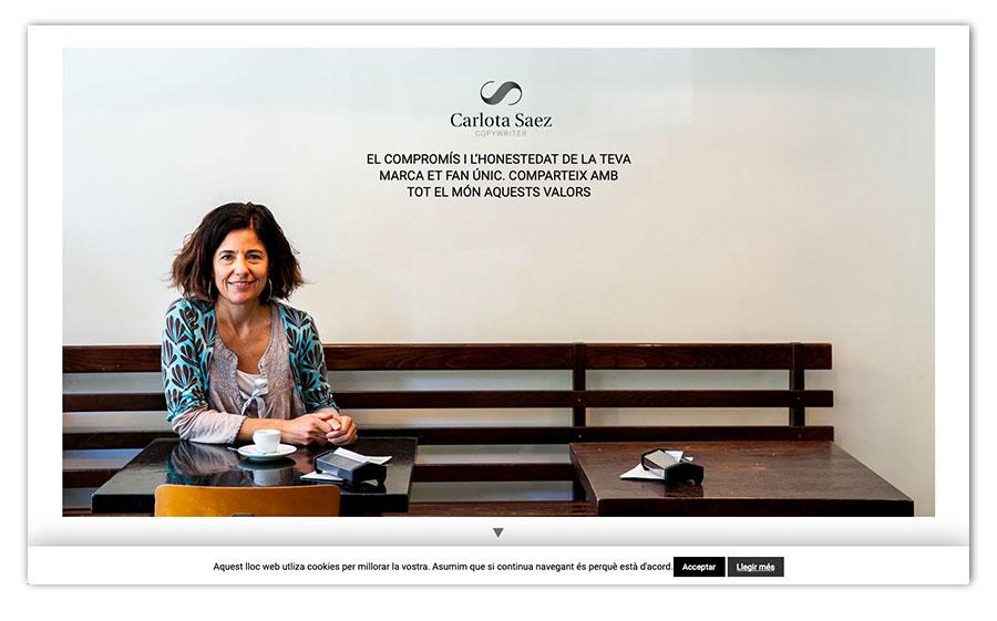 Urbs Disseny i Comunicació » Carlota Saez Copy