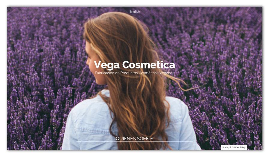 Urbs Disseny i Comunicació » Vega Cosmetica